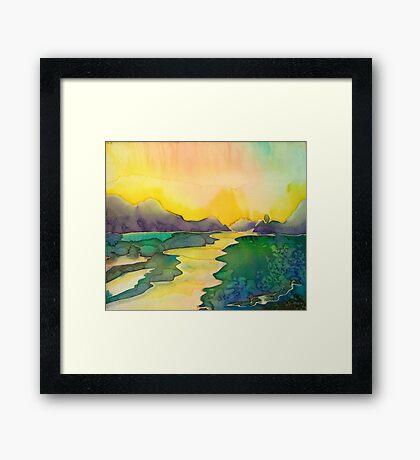 Alaska Light Framed Print