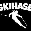 Skihase (Weiß) Apres Ski Skihasen von theshirtshops