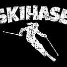 Skihase (Vintage Weiß) Apres Ski Skihasen von theshirtshops