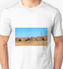 Round Bales Of Hay Unisex T-Shirt