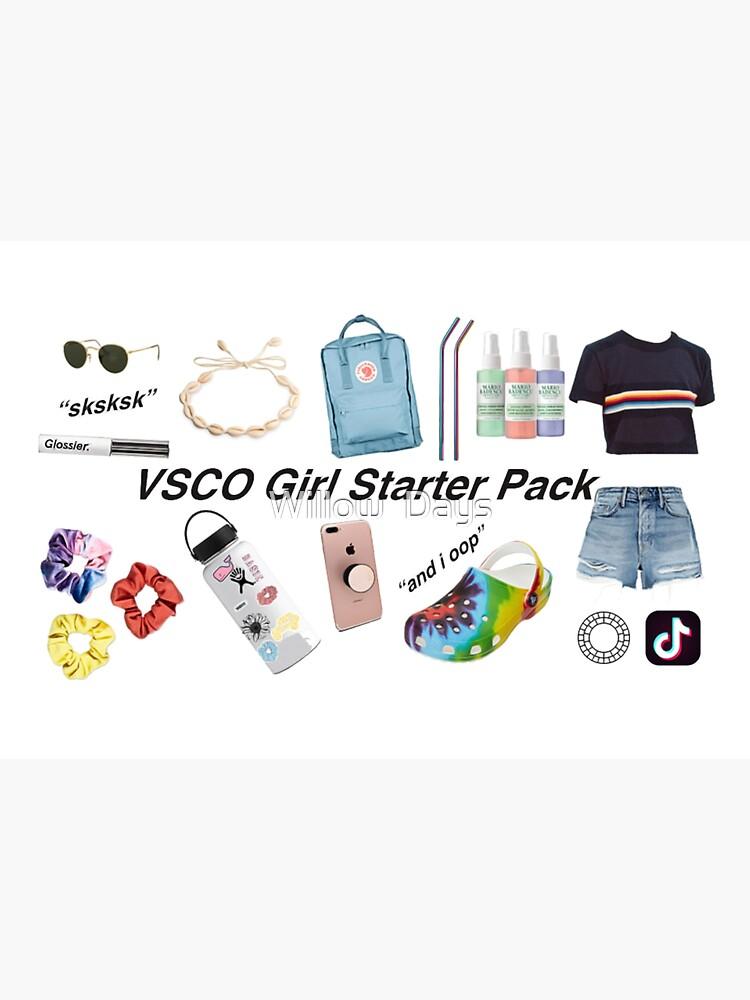 vsco girl starter pack by avit1