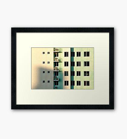 Five Balconies  Framed Print