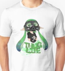 Squid AND a Kid -Green- T-Shirt