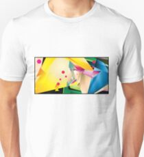 Abstract Design (Small Graphic) Unisex T-Shirt
