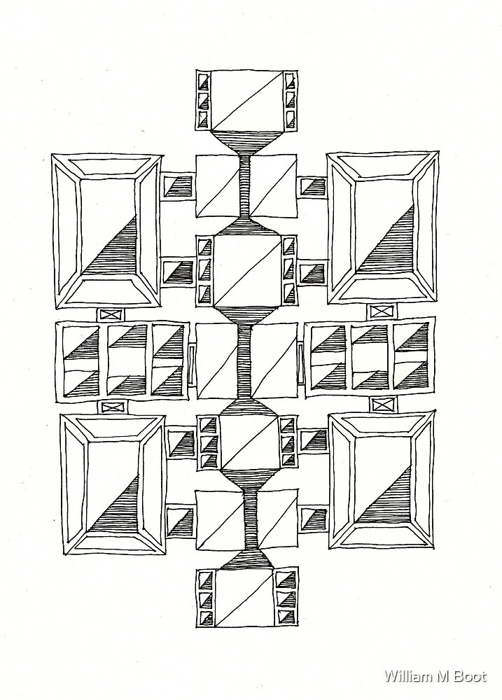 Untitled Construct 17 by William M Boot