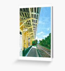 Purcellville Train Station Greeting Card