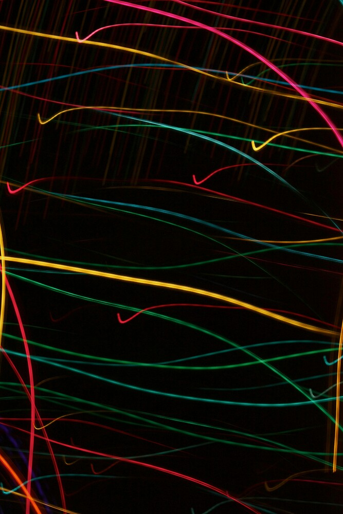 Suburb Christmas Light Series  - Checking the List by David J. Hudson