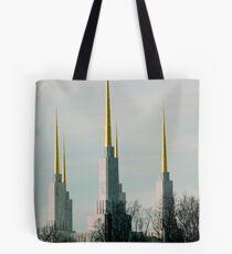 Triple Spires  ^ Tote Bag