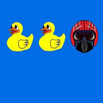 Duck, Duck, Goose by rubynibur