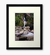Dorothy Falls, West Coast Framed Print