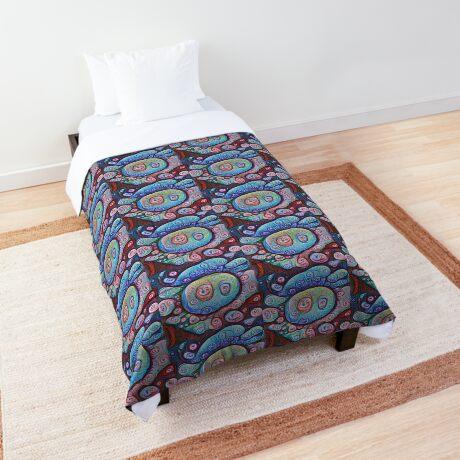 #DeepDream Ice Comforter