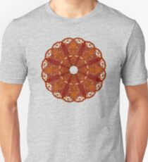 Eyed Cymbal of Flame Slim Fit T-Shirt