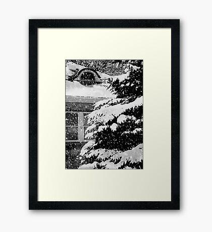 Country Home Christmas ©  Framed Print