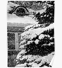 Country Home Christmas ©  Poster