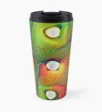 #DeepDream Lights Travel Mug
