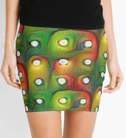#DeepDream Lights Mini Skirt