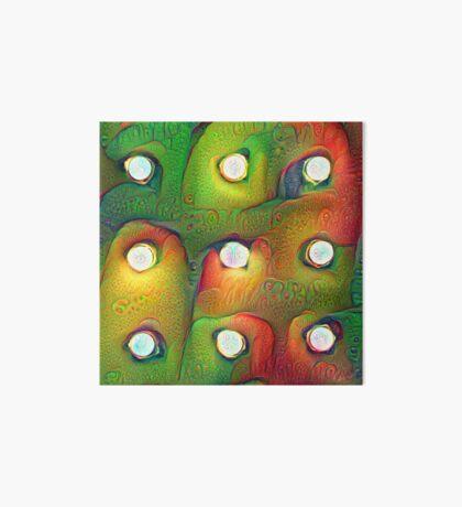 #DeepDream Lights Art Board Print