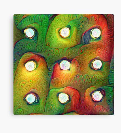 #DeepDream Lights Canvas Print