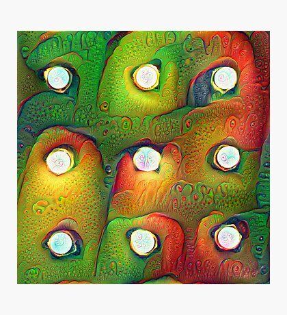 #DeepDream Lights Photographic Print