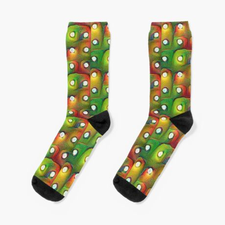 #DeepDream Lights Socks