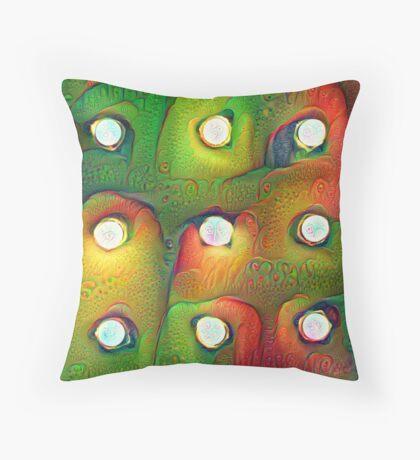 #DeepDream Lights Floor Pillow