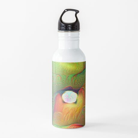 #DeepDream Lights Water Bottle