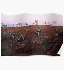 Colors of the Pilbara Poster