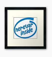 Nerevar Inside Framed Print