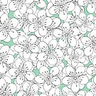 Cherry Blossom With Mint Blocks - In Memory of Mackenzie by ProjectM