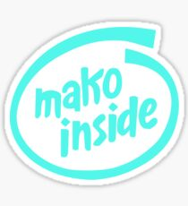 Mako Inside Sticker