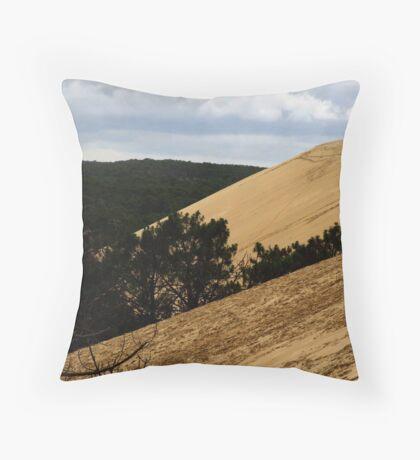 Dune of Pilat - France Throw Pillow