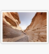 Squeeze through Mosaic Canyon Sticker