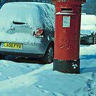 Cold Letters, Warm Heart: Snowy Letterbox by DonDavisUK
