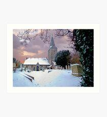 All Saints Church,Birchington,Kent Art Print