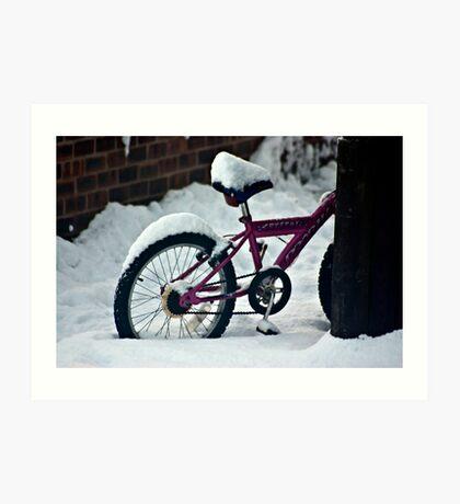 On Yer Bike Art Print