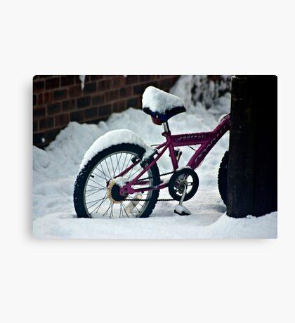 On Yer Bike Canvas Print