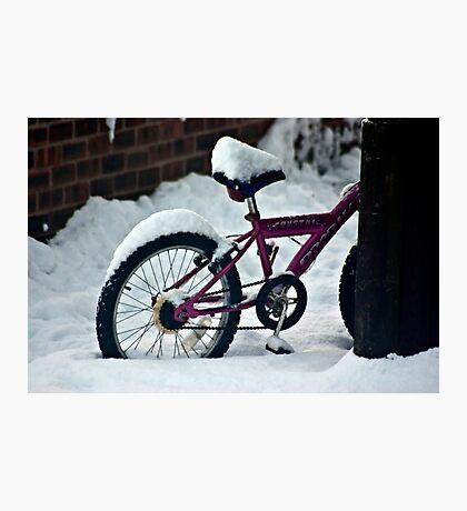 On Yer Bike Photographic Print