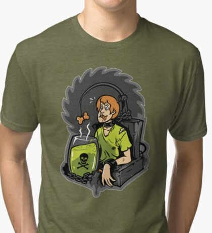 Scooby Trapped Tri-blend T-Shirt