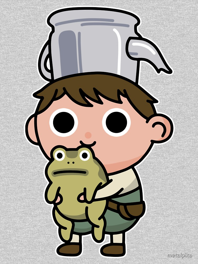 Greg and the frog by metalpika