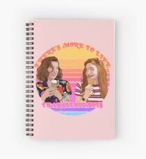 There's More To Life Than Stupid Boys Spiral Notebook