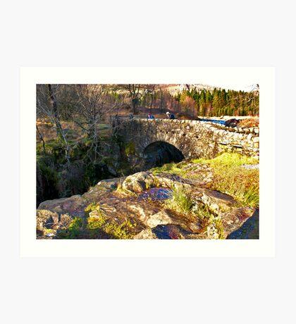 Birks Bridge - River Duddon Art Print