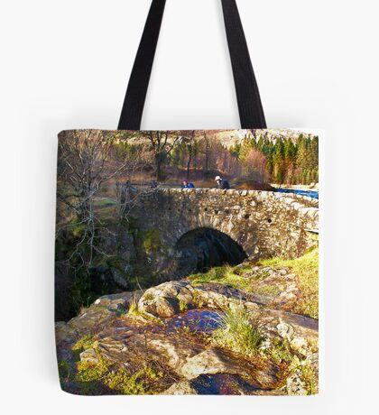 Birks Bridge - River Duddon Tote Bag