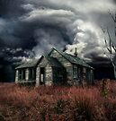 just before the storm  by Aimelle