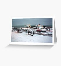 Rosslare Harbour Greeting Card