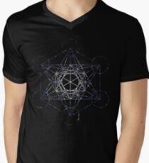 Metatron's Cube Star Cluster - Sacred Geometry T-Shirt
