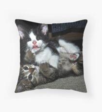 """"""" Lean on me """" Throw Pillow"""
