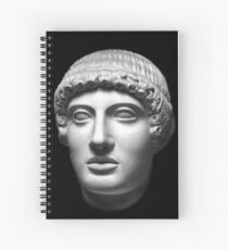 god Apollo aka Apollon Spiral Notebook