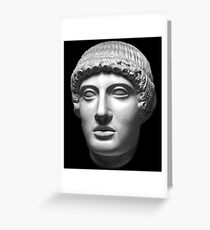 god Apollo aka Apollon Greeting Card