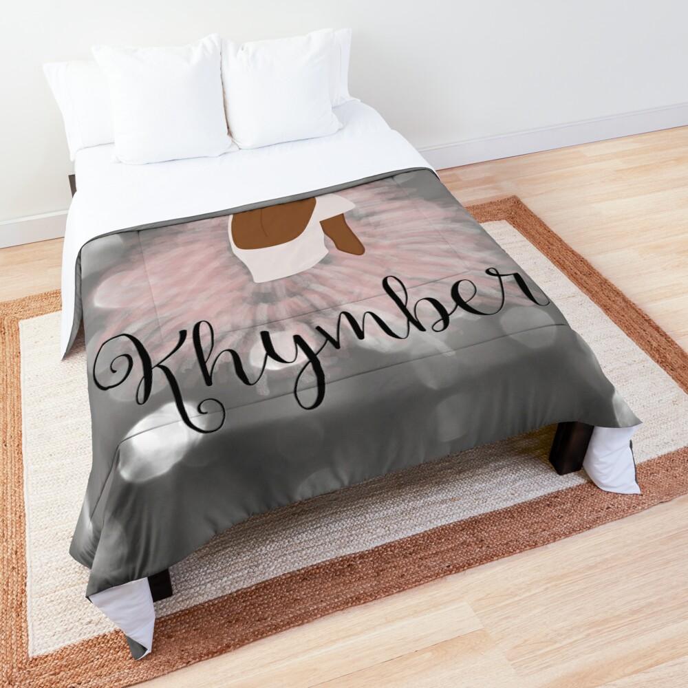 Khymber Personalized African American Dancer Ballerina Comforter