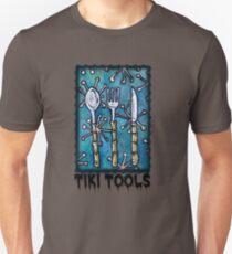 TIKI TOOLS tiki cutlery for Kings Slim Fit T-Shirt